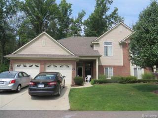 3695  Eagle Creek Drive  , Shelby Twp, MI 48317 (#214087404) :: Sine and Monaghan Realtors