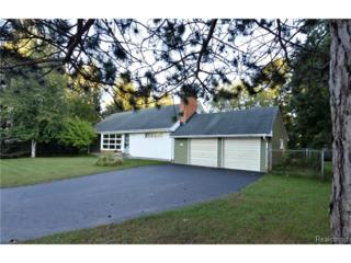 6801  Cranberry Lake Road  , Independence Twp, MI 48348 (#214091262) :: Sine and Monaghan Realtors