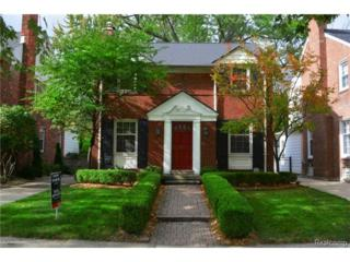 421  Moran Road  , Grosse Pointe Farms, MI 48236 (#214104486) :: RE/MAX Classic
