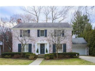 329  Touraine Road  , Grosse Pointe Farms, MI 48236 (#215006666) :: Sine and Monaghan Realtors