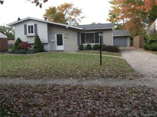 38743  Beecher Drive  , Sterling Heights, MI 48312 (#215008355) :: Sine and Monaghan Realtors