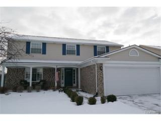 47150  Valley Forge Drive  , Macomb Twp, MI 48044 (#215009196) :: Sine and Monaghan Realtors