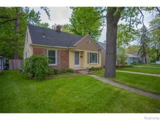 1006  Catalpa Drive  , Royal Oak, MI 48067 (#215039953) :: Sine and Monaghan Realtors