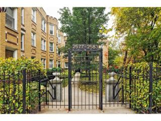2579 W Montrose Avenue  1N, Chicago, IL 60618 (MLS #08759390) :: Jameson Sotheby's International Realty