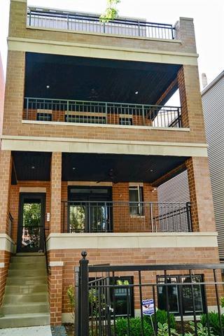 3842 N Damen Avenue  3, Chicago, IL 60618 (MLS #08729849) :: Jameson Sotheby's International Realty