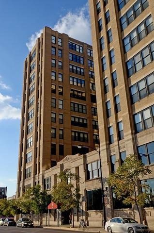728 W Jackson Boulevard  512, Chicago, IL 60661 (MLS #08735799) :: Jameson Sotheby's International Realty