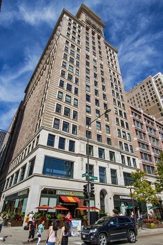 6 N Michigan Avenue  604, Chicago, IL 60602 (MLS #08753017) :: Jameson Sotheby's International Realty