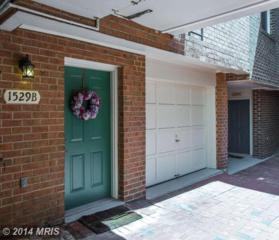1529  Colonial Terrace  , Arlington, VA 22209 (#AR8468913) :: The Maryland Group of Long & Foster