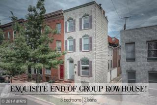 119  Chester Street S , Baltimore, MD 21231 (#BA8408276) :: The Dailey Group