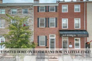 311  S High Street S , Baltimore, MD 21202 (#BA8411270) :: The Dailey Group