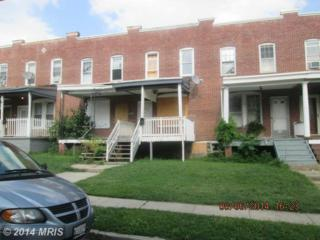 547  Longwood Street S , Baltimore, MD 21223 (#BA8445791) :: Keller Williams Realty Centre