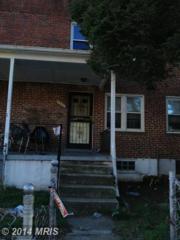 2803  Oswego Avenue  , Baltimore, MD 21215 (#BA8468938) :: The Abrams Group of Re/Max Town Center@ Park Potomac