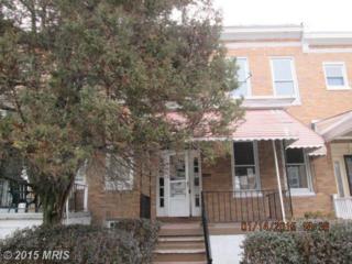 25  Abington Avenue  , Baltimore, MD 21229 (#BA8541764) :: The Abrams Group of Re/Max Town Center@ Park Potomac