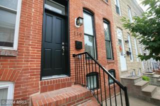 119  Burnett Street  , Baltimore, MD 21230 (#BA8439003) :: Move4Free Realty LLC