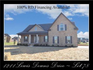 1211  Lewis Downs Drive - Lot 78  , Christiana, TN 37037 (MLS #1592111) :: EXIT Realty Bob Lamb & Associates