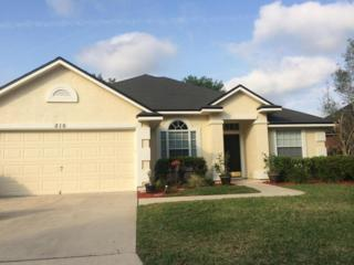 816 E Doty Branch  , St Johns, FL 32259 (MLS #754470) :: EXIT Real Estate Gallery