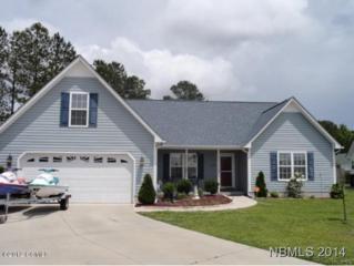 1420  Scotch Pine  , Havelock, NC 28532 (MLS #96368) :: First Carolina, REALTORS®