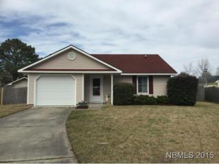 606  Timber Court  , Havelock, NC 28532 (MLS #98424) :: First Carolina, REALTORS®