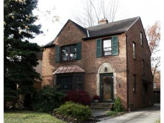 2420  Fenwick Rd  , University Heights, OH 44118 (MLS #3666709) :: Howard Hanna