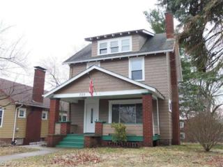 720  23rd St NW , Canton, OH 44709 (MLS #3691694) :: RE/MAX Crossroads Properties