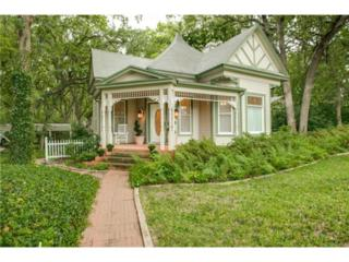1555  Lindsey Street  , Denton, TX 76205 (MLS #13018596) :: Robbins Real Estate