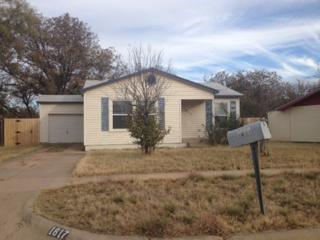 1817  Ballinger Street  , Abilene, TX 79605 (MLS #13057878) :: Fathom Realty