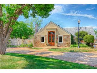 6420 N Hillcrest Ave  , Nichols Hills, OK 73116 (MLS #550795) :: Re/Max Elite