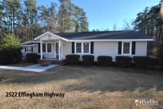 2522  Effingham Hwy  , Effingham, SC 29541 (MLS #124171) :: RE/MAX Professionals