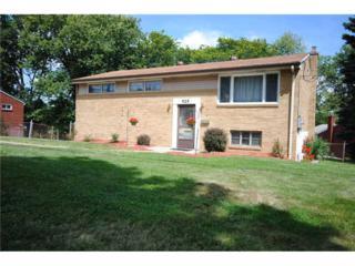 925  Vista Glen Drive  , Bethel Park, PA 15102 (MLS #1024783) :: Keller Williams Realty
