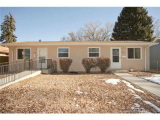 3141-3143  Pennsylvania Avenue  , Colorado Springs, CO 80907 (#9089798) :: Cherry Creek Properties, LLC