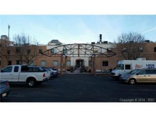219 W Colorado Avenue  105, Colorado Springs, CO 80903 (#9768414) :: Action Team Realty