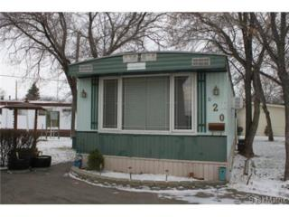 D20  Glen Elm Trailer Court  , Regina, SK S4N 0M6 (#518592) :: Porchlight Realty