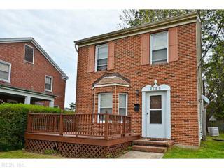 2120  Oak Ave  , Newport News, VA 23607 (#1516983) :: The Kris Weaver Real Estate Team