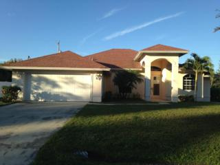 1961 SW Delmonico Avenue  , Port Saint Lucie, FL 34953 (#RX-10103337) :: The Torrance Group