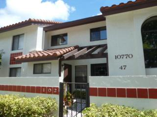 10770  Sun Palm Lane  102, Boynton Beach, FL 33437 (#RX-10126756) :: The Torrance Group