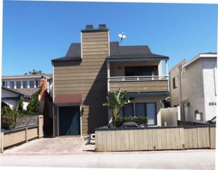 820-822  Santa Clara Place  , San Diego, CA 92109 (#140065866) :: Pickford Realty LTD, DBA Berkshire Hathaway HomeServices California Properties