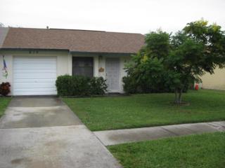 819  Poinciana Street  , Rockledge, FL 32955 (MLS #709652) :: Prudential Star Real Estate