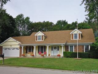 36  Greentrail Drive  , Chatham, IL 62629 (MLS #145146) :: Killebrew & Co Real Estate Team