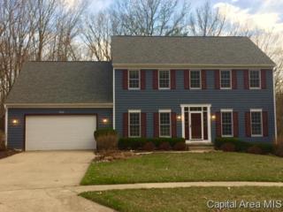 3612  Briana Dr  , Springfield, IL 62711 (MLS #151483) :: Killebrew & Co Real Estate Team