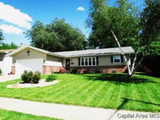 828 N Oxford  , Springfield, IL 62702 (MLS #152533) :: Killebrew & Co Real Estate Team