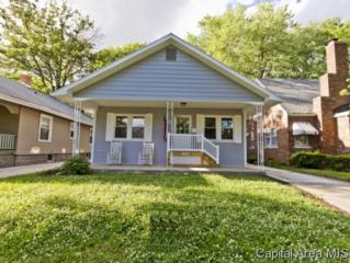 1637 W Monroe St  , Springfield, IL 62704 (MLS #152834) :: Killebrew & Co Real Estate Team