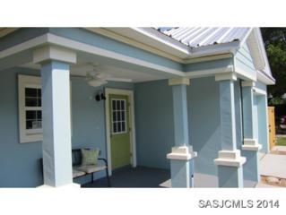 6428  Brevard Street  , St. Augustine, FL 32080 (MLS #151923) :: Florida Homes Realty & Mortgage