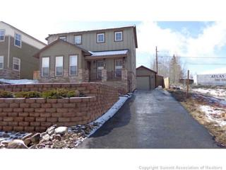 629  East 10th St  , Leadville, CO 80461 (MLS #S391736) :: Century 21, The Smits Team