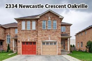 2334  Newcastle Cres  , Oakville, ON L6M 4P6 (#W3048947) :: Rock Star Real Estate