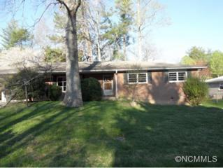 1613  Sherman Drive  , Hendersonville, NC 28739 (MLS #560305) :: Exit Mountain Realty