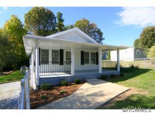 210  Beverly Avenue  , Hendersonville, NC 28792 (MLS #572755) :: Exit Realty Vistas