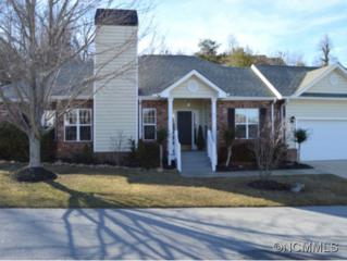 617  Carriage Commons Dr  , Hendersonville, NC 28791 (#578341) :: Exit Realty Vistas